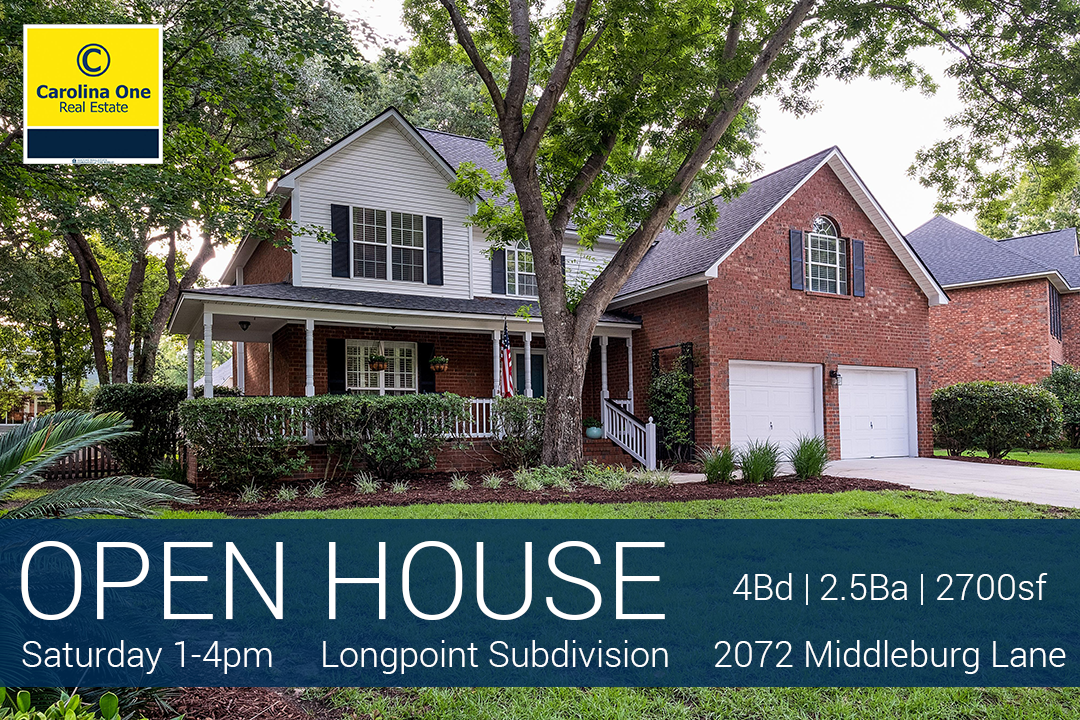 Open House - 2072 Middleburg Lane