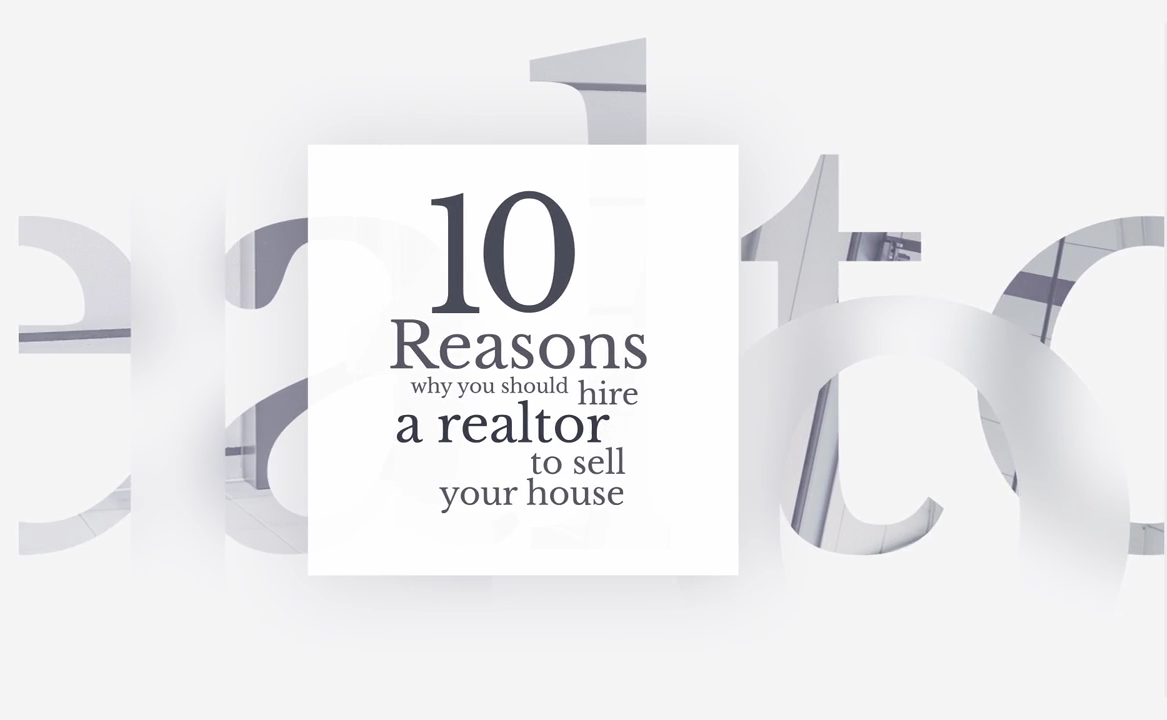 Top Ten Reasons Why You Should Hire A Realtor In Charleston, SC.